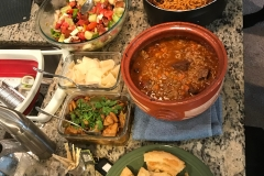 multicultural dinner - summer 2018
